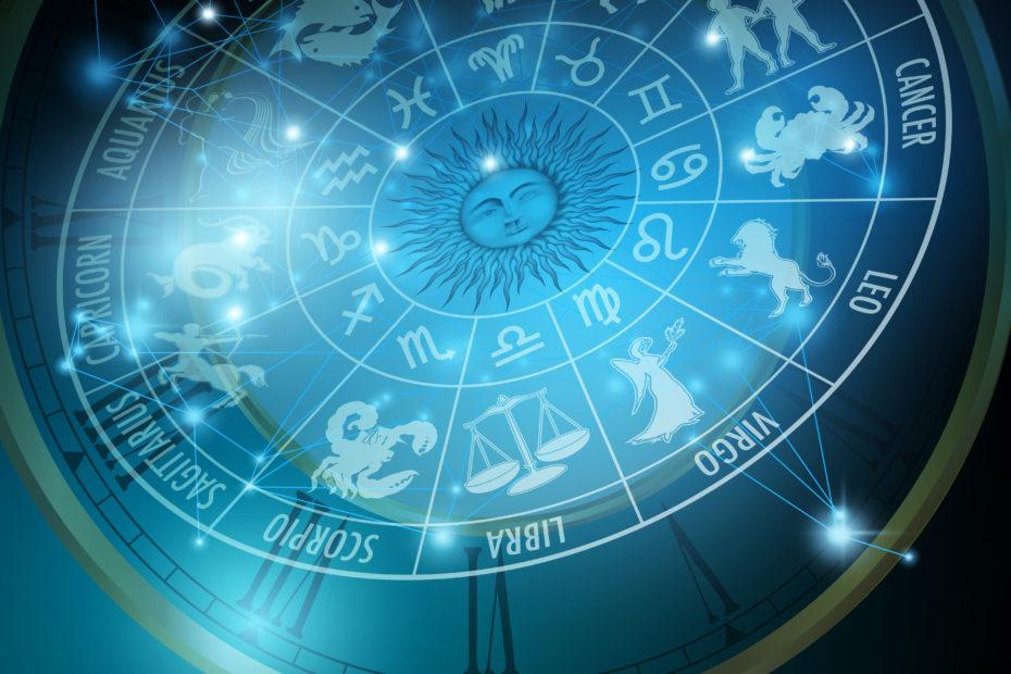 Astrology concept. Horoscope with Zodiac signs www.elartedebrillar.com astrologia y autoconocimiento