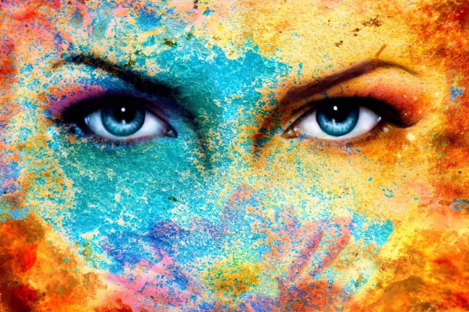 mujer, y tu como miras la vida? www.elartedebrillar.com astrología y autoconocimiento